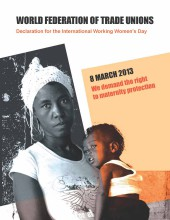 Declaration For Working Women, March 8th