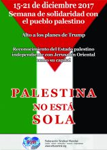 ES Poster For The Solidarity Week With The Palestinian People