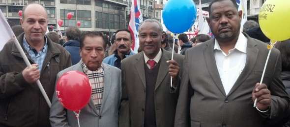 WFTU » SWTUF high level delegation pays official visit to ...