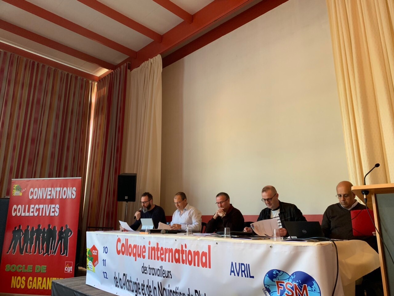 WFTU » France: the WFTU is present in the International